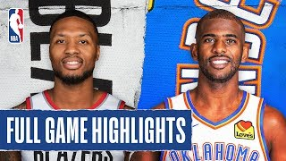 TRAIL BLAZERS at THUNDER | FULL GAME HIGHLIGHTS | January 18, 2020