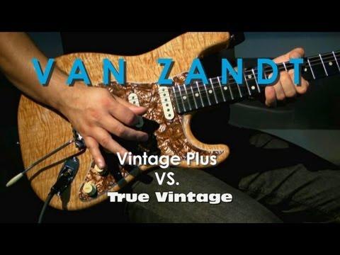Pickup's VAN ZANDT - True Vintage VS. Vintage Plus