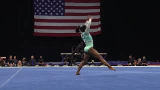 Simone Biles – Floor Exercise – 2018 U.S. Gymnastics Championships – Senior Women Day 2