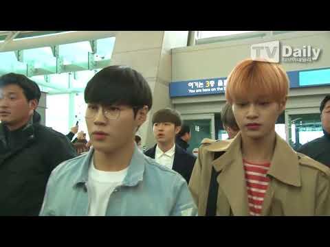 [TD영상] 워너원(Wanna One) '공항 마비 시키는 무질서한 팬들에 험난한 출국길'