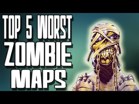 Top 5 All Time ZOMBIE MAPS in COD!! | VideoMoviles.com