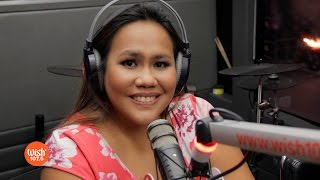 "Bituin Escalante performs ""Kung Ako Na Lang Sana"" LIVE on Wish 107.5 Bus"