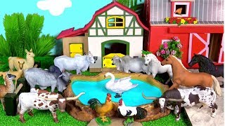 Farm Animal Toys For Kids Learn Animal Names Surprise Toy Learn Colors