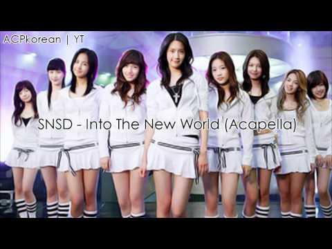 SNSD - Into The New World (Acapella)