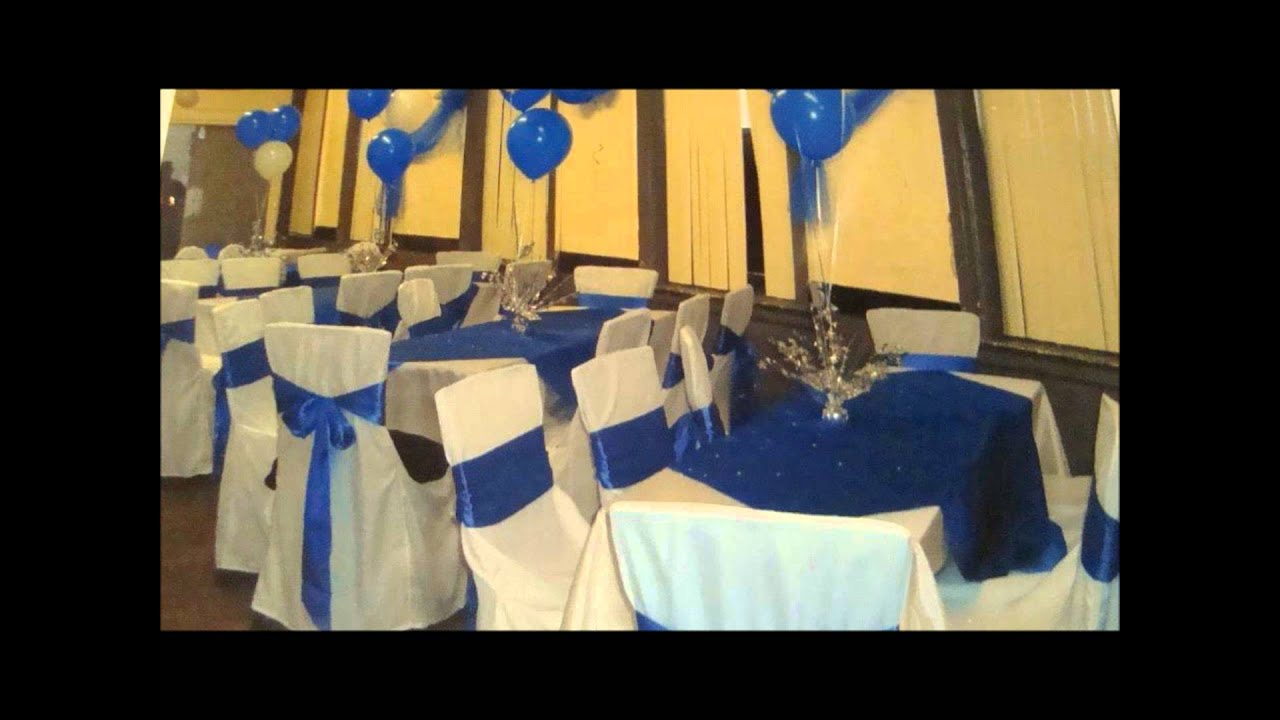 Royal Blue Quinceanera Table Decorations Photograph | maxres
