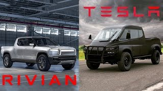 TESLA TRUCK vs. RIVIAN R1T // Full Comparison