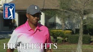 Tiger Woods' highlights | Round 2 | Arnold Palmer