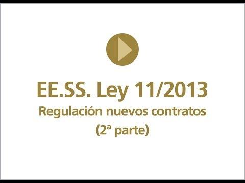 II Regulación nuevos contratos EE.SS.