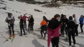 Curso de esqui de fondo en beret