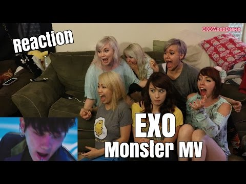 [Reaction] EXO 엑소 - Monster MV
