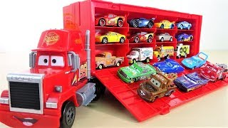 Learn Colors Lightning McQueen Cars & Trucks Colors Toys with Kids Songs
