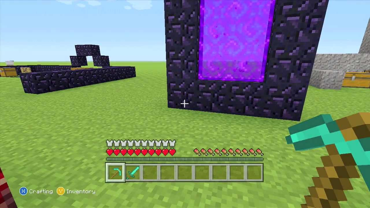 How To Make A Nether Portal In Minecraft Commentary
