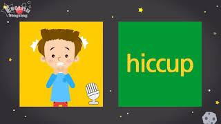 """Kids vocabulary compilation ver.2 - Words Cards starting with H, h - Repeat after """"Ting (sound)"""""""