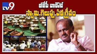 Karnataka CM HD Kumaraswamy wins floor test after 117 MLAs..