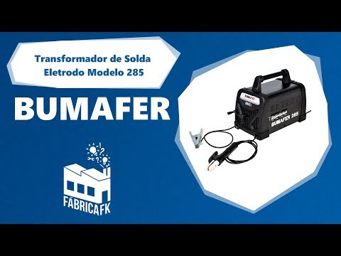 Transformador de Solda Eletrodo 250 A Mod 285 Bumafer Bivolt - Vídeo explicativo