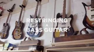 Watch the Trade Secrets Video, D'Addario Core: How to Restring an Electric Bass Guitar