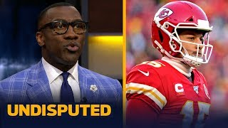 Shannon Sharpe reacts to Patrick Mahomes leading the Chiefs to the Super Bowl | NFL | UNDISPUTED