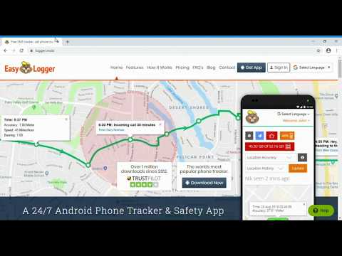 Easy logger dashboard guide for phone tracking, cell phone location tracking and using safety alerts