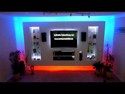 led tv wand das zuhause deines lebens youtube. Black Bedroom Furniture Sets. Home Design Ideas