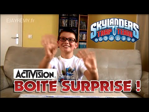 ACTIVISION Boite Surprise ! TRAP TEAM Unboxing ? - YouTube