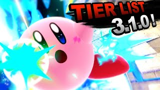 Mew2king's Smash Ultimate 3.1.0 Tier List [Bottom, Low & Mid Tiers]