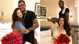 Hardik Pandya shares SWEETEST moment with wife Natasa &..
