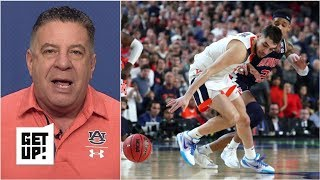 'Get over it' - Bruce Pearl on missed double-dribble call in Auburn's loss | Get Up!