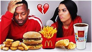 MCDONALDS MUKBANG + CONFRONTING MY HUSBAND ABOUT OTHER FEMALES!!