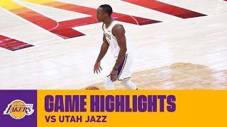 HIGHLIGHTS | Rajon Rondo (14 pts, 12 ast, 9 reb) vs. Utah Jazz