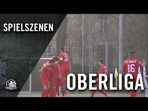CFC Hertha 06 - FSV Optik Rathenow (NOFV-Oberliga Nord) - Spielszenen | SPREEKICK.TV