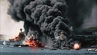 Battle of Pearl Harbor 1941 - Empire of Japan vs USA [HD]