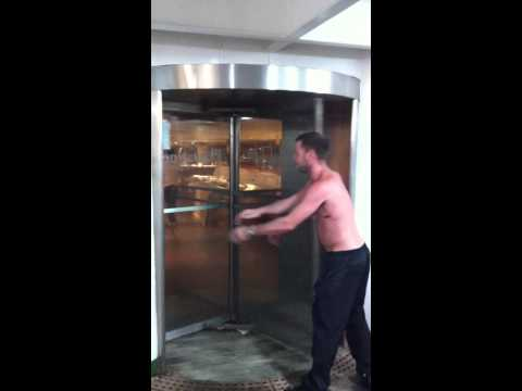Idiot Vs Revolving Door