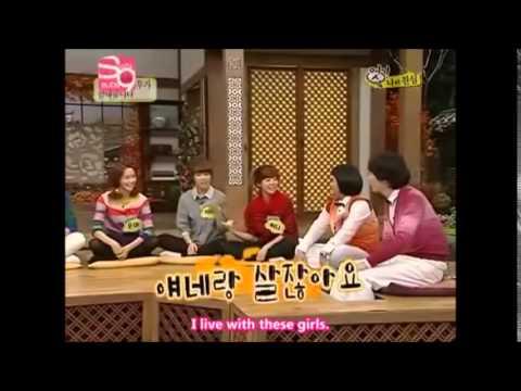 [GGTV]Jealous Tiffany & Sunny One shot skill