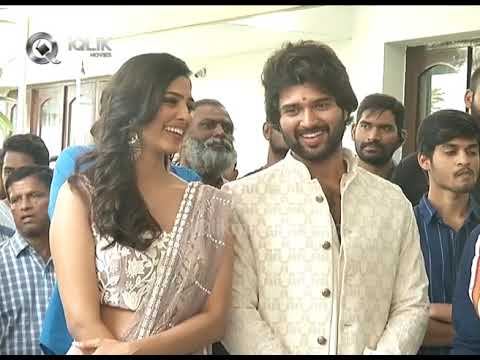 Vijay Deverakonda Hero Movie Launch