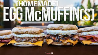 The Best Homemade Egg McMuffin   SAM THE COOKING GUY 4K