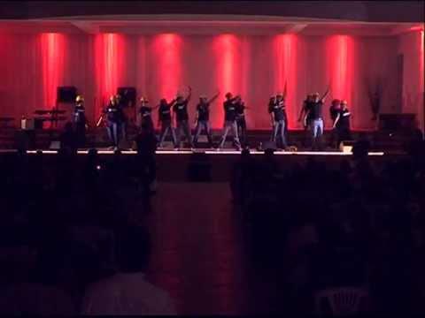 Coreografía de Evento de Inauguración del Nuevo Auditorio de CFN - Tema Brillare de Rojo