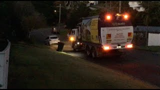 BCC Suez Environment - Truck BSR804 In The Dark + Early Morning Clips 23rd MAY 2019