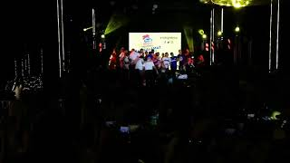 Magnolia Hotshots celebrate PBA Governors' Cup champions in victory party at SMC compound
