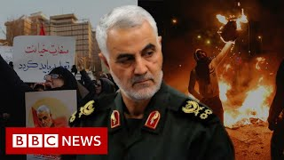Iran's turmoil in two minutes - BBC News
