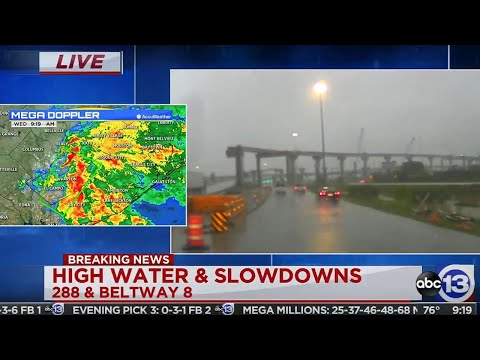 WATCH LIVE: Weather and traffic updates as heavy rain creates dangerous commute