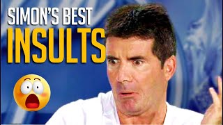 Most Iconic Simon Cowell Insults Of All Time! SAVAGE!😈