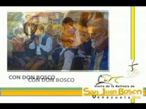 CoN DoN BoScO!!! Himno Visita de la Reliquia de San Juan Bosco a Venezuela! 2010!