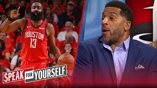 James Harden isn't the best scorer of this NBA era — it's KD, says Jim Jackson | SPEAK FOR YOURSELF