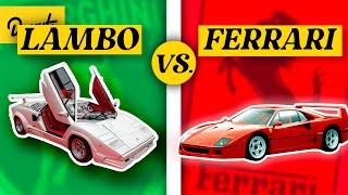 Ferrari Vs Lamborghini - The Rivalry EXPLAINED