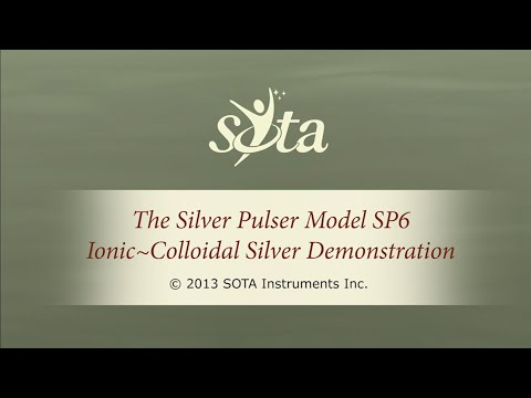The SOTA Silver Pulser Model SP6 - Ionic Colloidal Silver