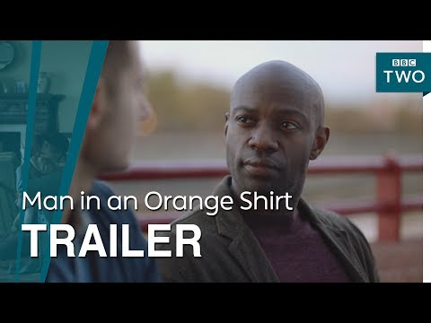 Man in an Orange Shirt'