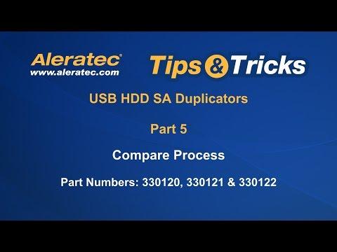 How To Compare Using USB HDD SA Duplicators - Aleratec Tips & Tricks Part 5