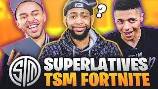 TSM Fortnite talks Girls, Pranks, Rapping, and More! | Superlatives