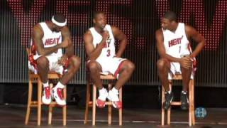 Miami Heat Welcome Party