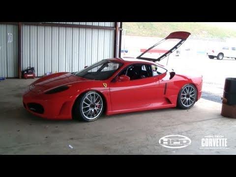 SW's Ferrari 430 Challenge car - Texas World Speedway